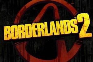 Borderlands 2 Logo On Black Background