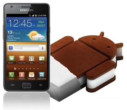 Android ICS 4.0.3 na Galaxy S2 – Pregled
