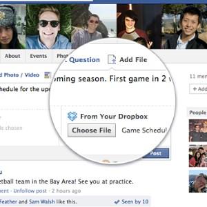 Dropbox integrisan u Facebook grupe!