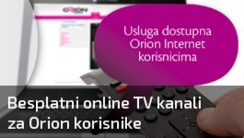 Orion TV - Besplatni TV kanali za Orion korisnike (2019) | SN