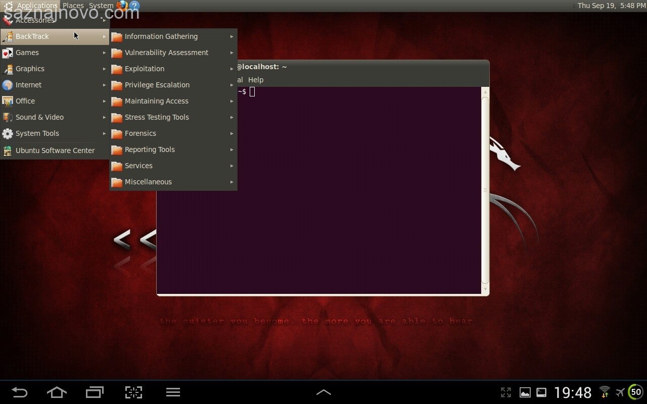 backtrack-on-android