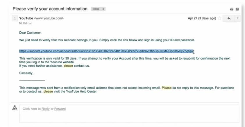 youtube-phishing