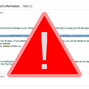 Youtube Phishing – Pazite se!