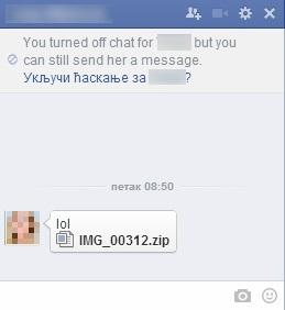 Virus se širi preko Facebook poruka – oprez!