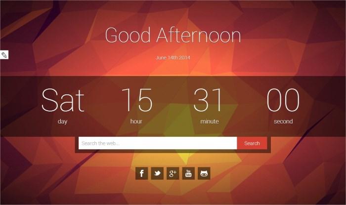 Shader – 3D new tab za Chrome