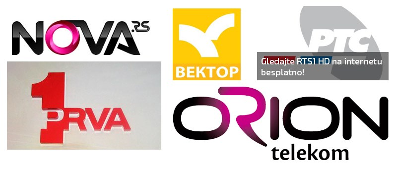TV online | Prva | RTS | Pink | Nova