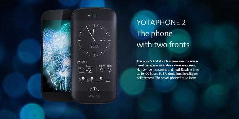 YotaPhone – smartphone sa 2 ekrana