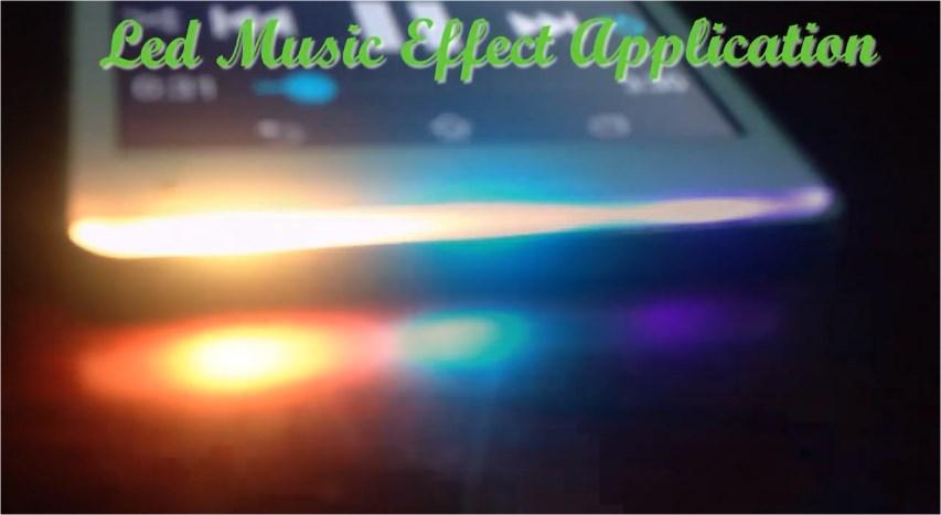 LED lampica kao svetlosni efekat za muziku