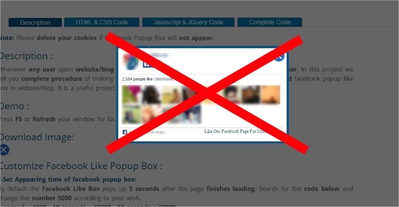 Kako ukloniti iskakajući prozor na nekom sajtu