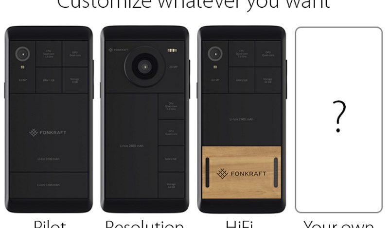 Fonkraft – novi modularni pametni telefon