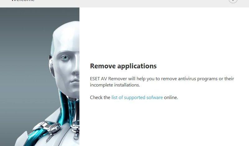 ESET AV Remover: uklonite kompletno bilo koji antivirus