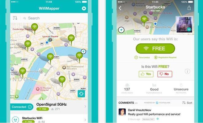 Pronađite besplatan WiFi pomoću iPhonea