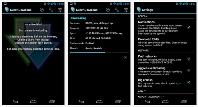 android-download-booster