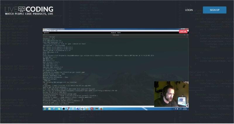 Twitch.tv je za gejmere, livecoding.tv je za programere!