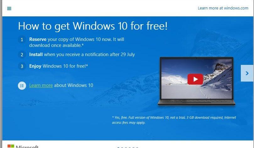 """Ne vidim ikonicu """"Get Windows 10"""" – Rešenje"""
