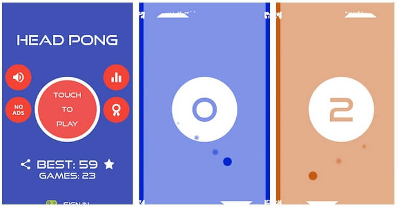 [Android] Head Pong igrica