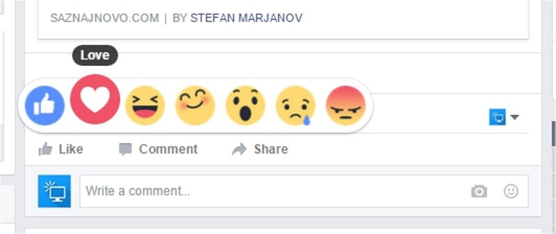 Kako isprobati Facebook Emotions pre svih?