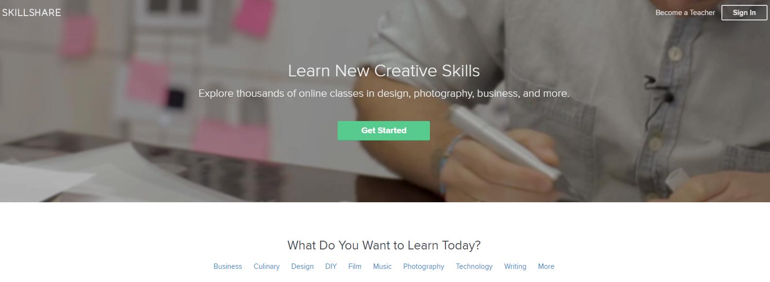 skill share website
