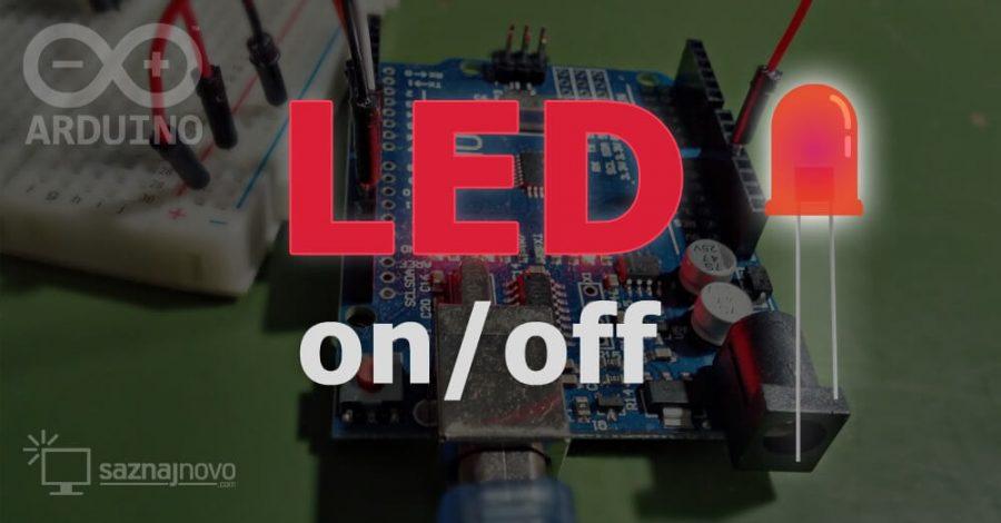 Arduino #1: LED on/off