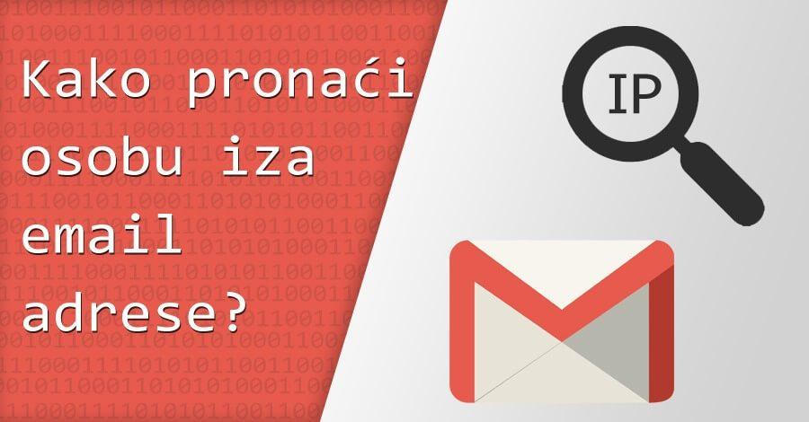 Kako pronaći osobu iza email adrese?