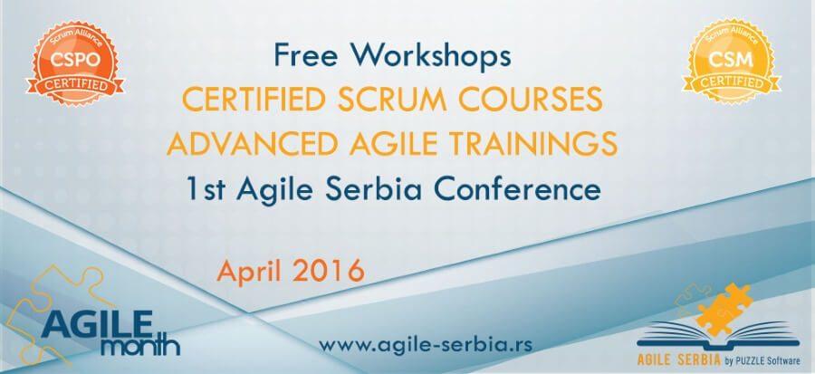 April u Srbiji – akcenat na AGILNOM razvoju softvera