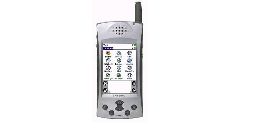 Samsung-palm os first smartphone