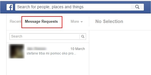 hidden inbox facebook
