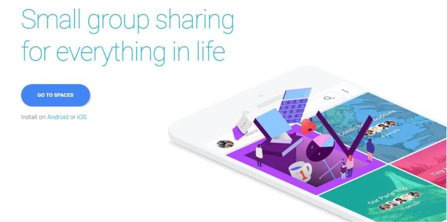 "Google predstavio platformu za deljenje sadržaja ""Spaces"""