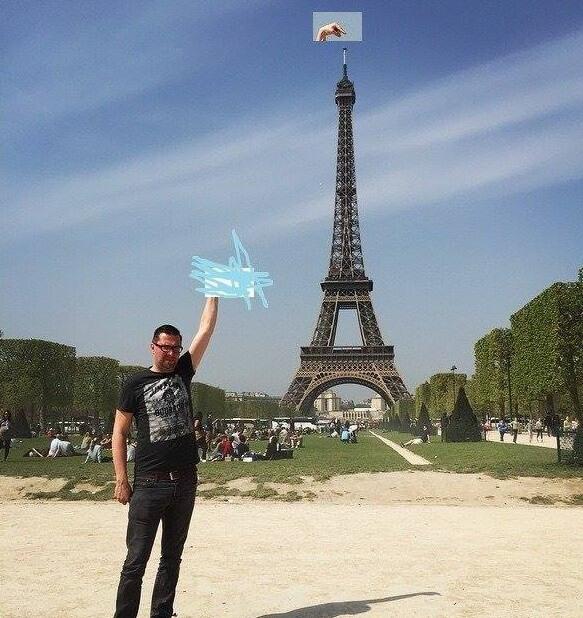 eifel-tower-photoshop