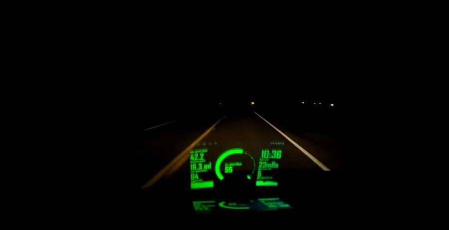 Navigacija na vetrobranskom staklu pomoću Android uređaja