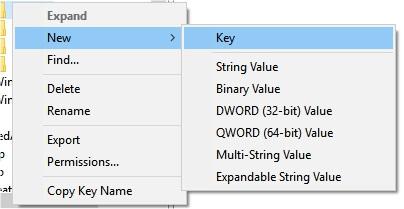 new registry key create (2)