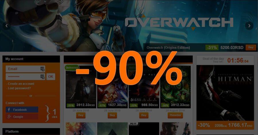 Kupovina Steam i Origin igrica po niskim cenama