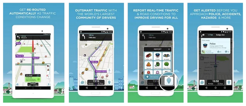 Waze-app-for-Android-smartphone