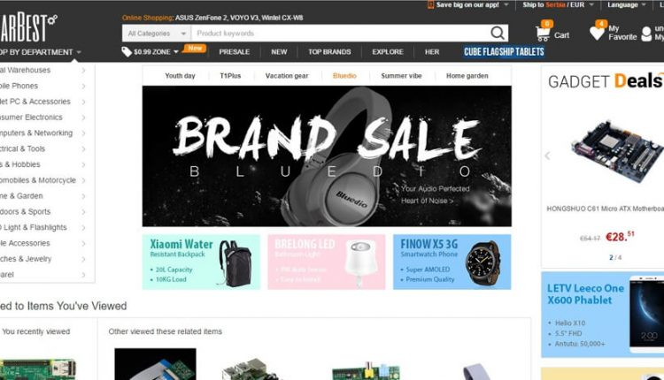 GearBest – poručivanje, plaćanje, carina