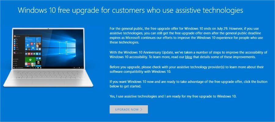 Windows 10 je još uvek besplatan za nadogradnju, evo i kako