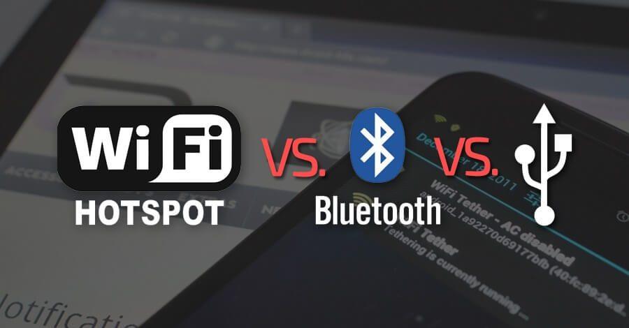 Deljenje mobilnog interneta – WiFi, Bluetooth ili USB?