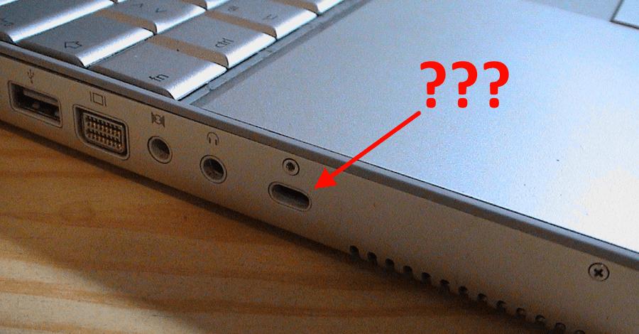 Da li znate čemu služi ova rupica na laptopovima?