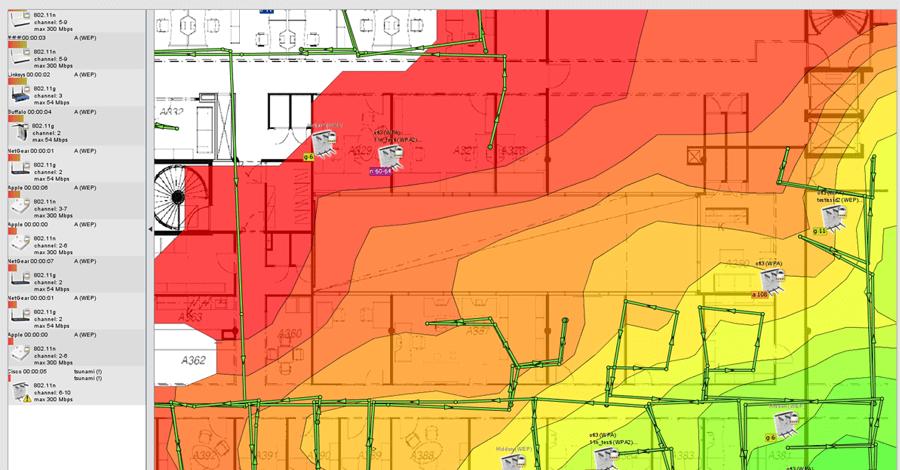 Napravite WiFi Heatmap u vašoj kući!