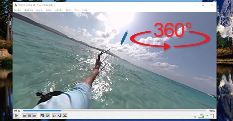 Kako gledati 360° snimke u računaru